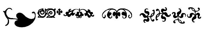 IM FELL FLOWERS 2 Font LOWERCASE