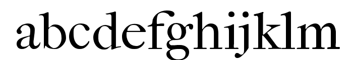 IM FELL French Canon Roman Font LOWERCASE