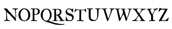 IM FELL Great Primer Roman SC Font UPPERCASE