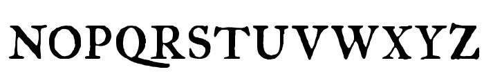 IM FELL Great Primer Roman SC Font LOWERCASE