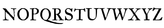 IM FELL Great Primer Roman Font UPPERCASE