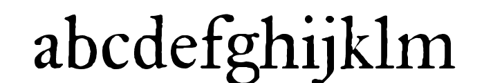 IM FELL Great Primer Roman Font LOWERCASE