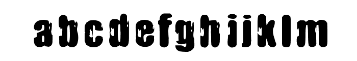 IMMORAL PACT Font LOWERCASE