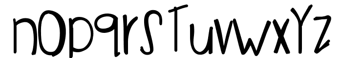 ImInvisible Font LOWERCASE