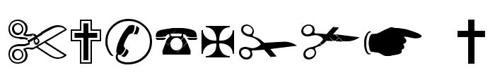 Imaginationbats Normal Font OTHER CHARS