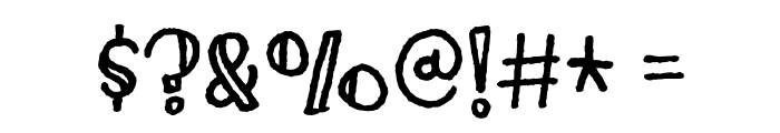 ImaginethisDEMO Font OTHER CHARS