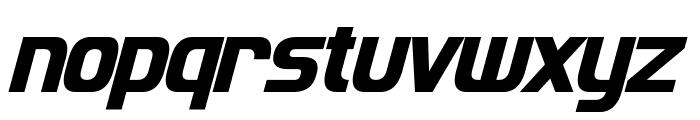 Imaki Condensed Bold Italic Font LOWERCASE
