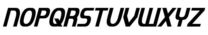Imaki Condensed Italic Font UPPERCASE