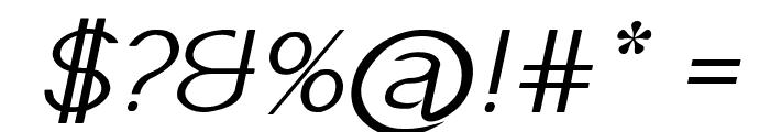 Imelda Italic Font OTHER CHARS