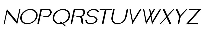 Imelda Italic Font UPPERCASE