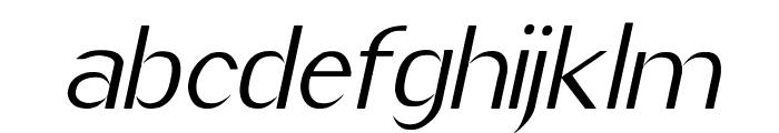 Imelda Italic Font LOWERCASE