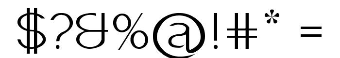 Imelda Light Font OTHER CHARS
