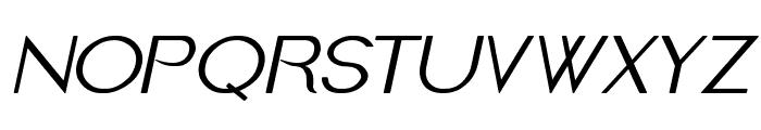 Imelda Medium Italic Font UPPERCASE