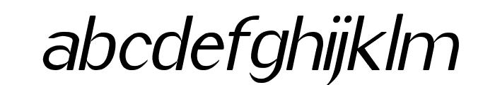 Imelda Medium Italic Font LOWERCASE