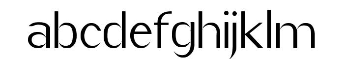 Imelda Regular Font LOWERCASE