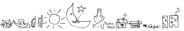 Imfornation Font LOWERCASE