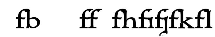 Immortal - Alternates Font LOWERCASE