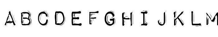 Impact Label Rev Font UPPERCASE