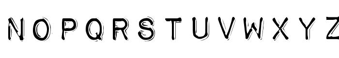 Impact Label Rev Font LOWERCASE