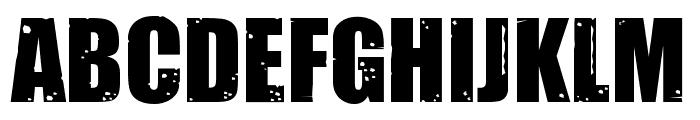 Impacted2.0-Regular Font UPPERCASE