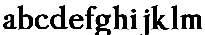Imperator Bold Font LOWERCASE