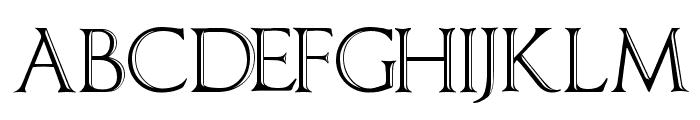 ImperatorBronzeSmallCaps Font UPPERCASE