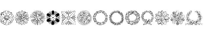 ImperioRomano Medium Font UPPERCASE