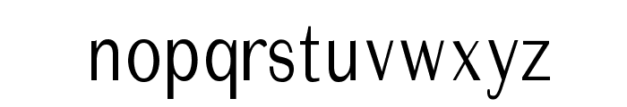 ImperiumCond Font LOWERCASE