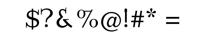 ImperiumLatineSerif Font OTHER CHARS