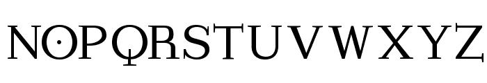 ImperiumLatineSerif Font UPPERCASE