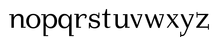 ImperiumSerif Font LOWERCASE