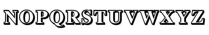 Important Regular Font UPPERCASE