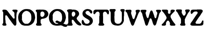 Impossibilium BRK Font UPPERCASE