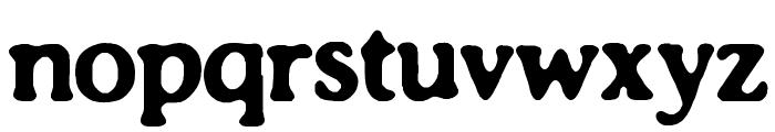 Impossibilium BRK Font LOWERCASE