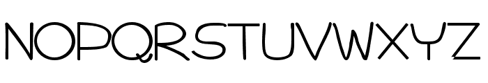 Impossible Bold Font UPPERCASE