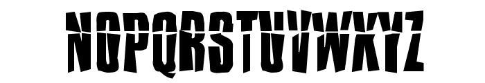 Impossible - Selfdestruct Font UPPERCASE