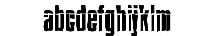 Impossible - Selfdestruct Font LOWERCASE