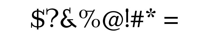 Imprimerie Font OTHER CHARS