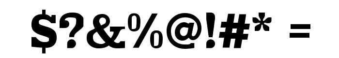 Improvisation Font OTHER CHARS