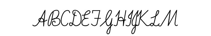 ImransSchool2-Italic Font UPPERCASE