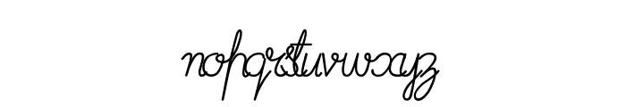 ImransSchool2-Italic Font LOWERCASE