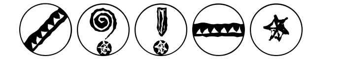 ImresCorrodetCaps Font OTHER CHARS