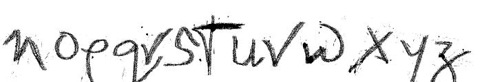 imWeird Font LOWERCASE