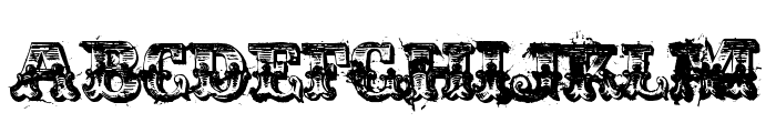 immoral Font UPPERCASE