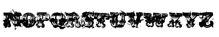 immoral Font LOWERCASE