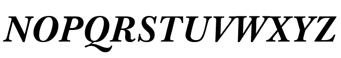 Imperial Bold Italic Font UPPERCASE