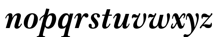 Imperial Bold Italic Font LOWERCASE