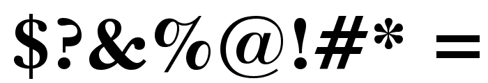 Imperial Bold Font OTHER CHARS