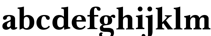 Imperial Bold Font LOWERCASE