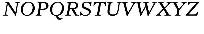 Imperial Italic Font UPPERCASE